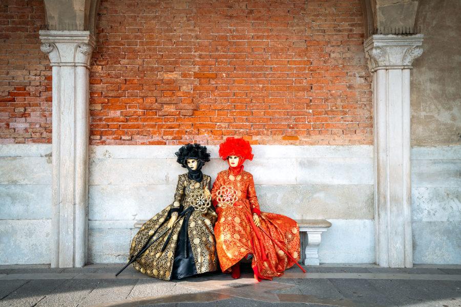 Disfraces extravagantes en Venecia