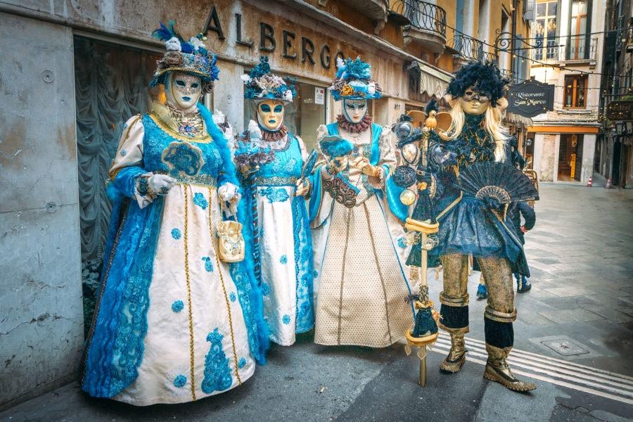 Calles de la ciudad de Venecia