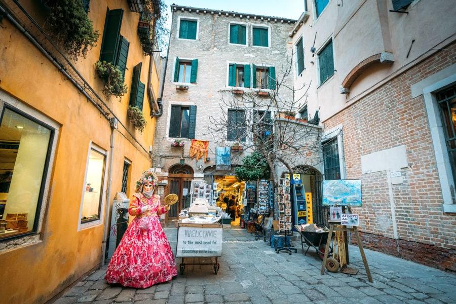 Consejos de fotografía de Venecia