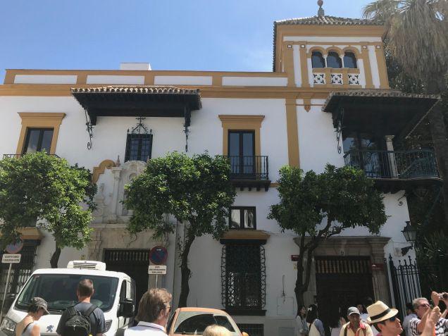 Antigua casa judía, ahora hotel