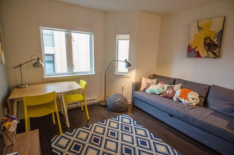 Dónde alojarse en Gastown, Vancouver | Me encantó este apartamento de Airbnb en el moderno barrio de Gastown en Vancouver, BC