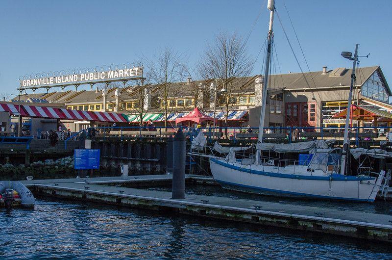 Explorando el mercado público de la isla de Granville | Invierno en Vancouver