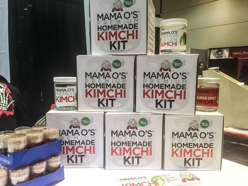 Kit de kimchi de bricolaje en el Winter Fancy Food Show 2017
