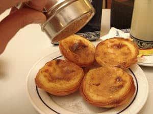 Tartas de crema Portuguesa