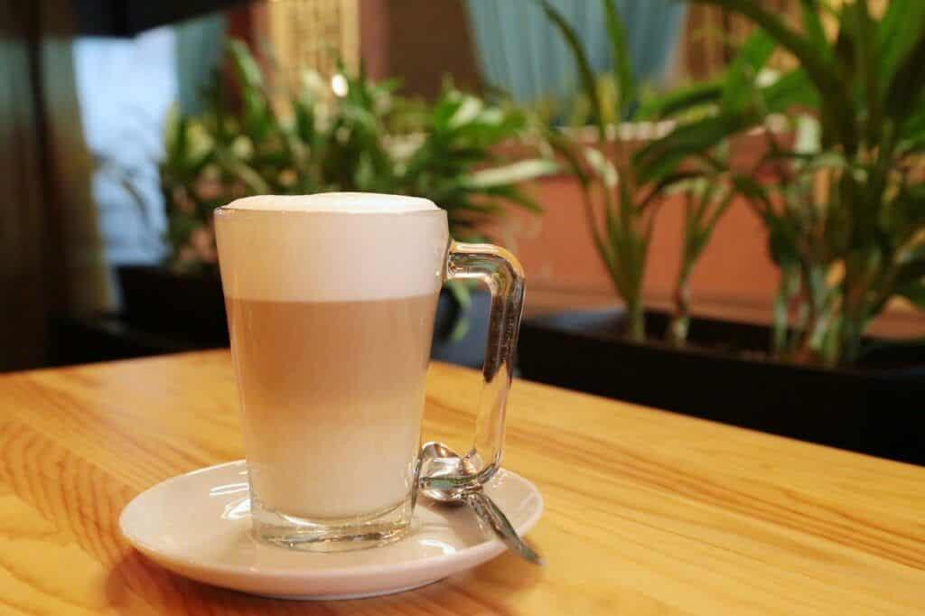 Galón de café en Portugal