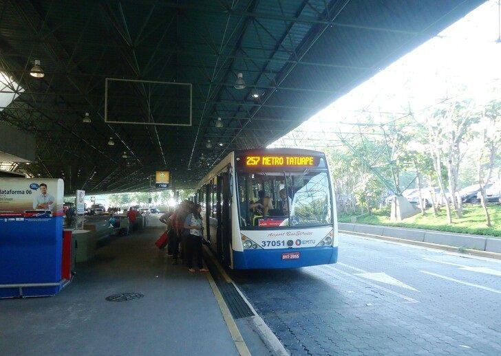 São Paulo Airport to the city center