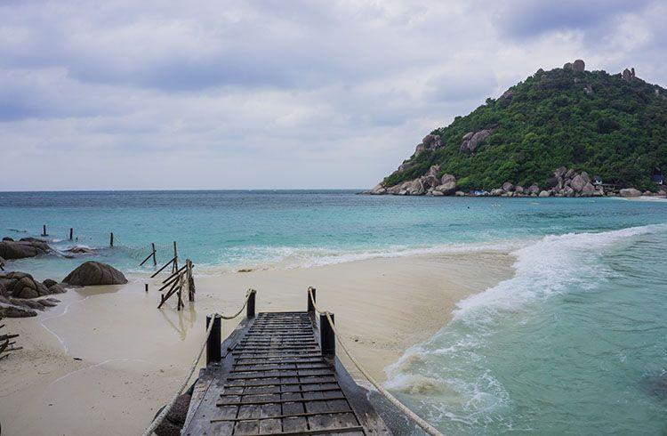 A (Rough) Day Trip to Koh Nang Yuan from Koh Tao, Thailand