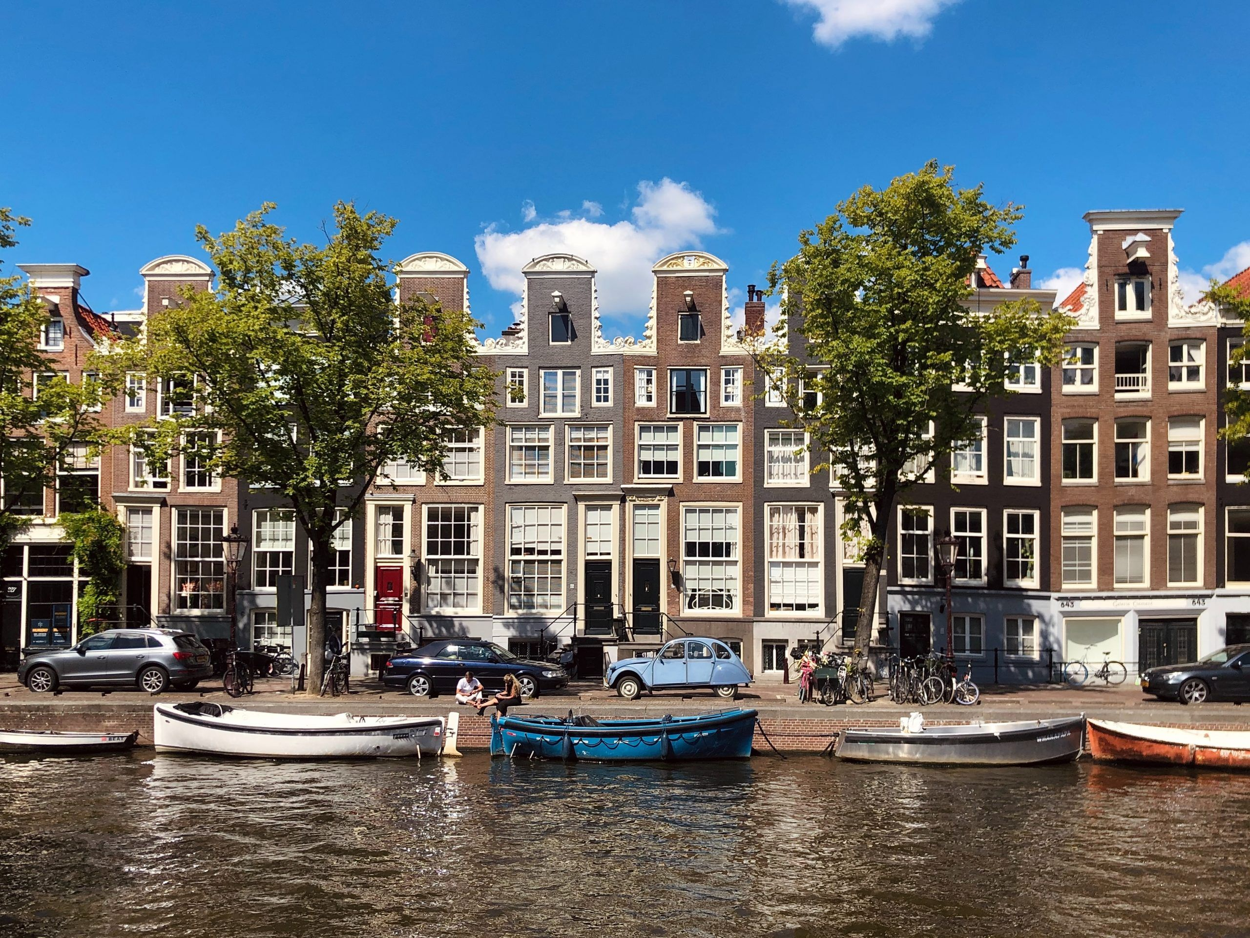 Amsterdam in October-Capital of Netherlands