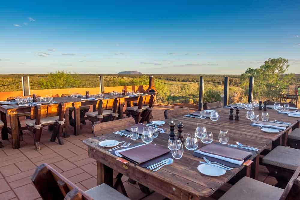 Tali Wiru desert dining at Uluru