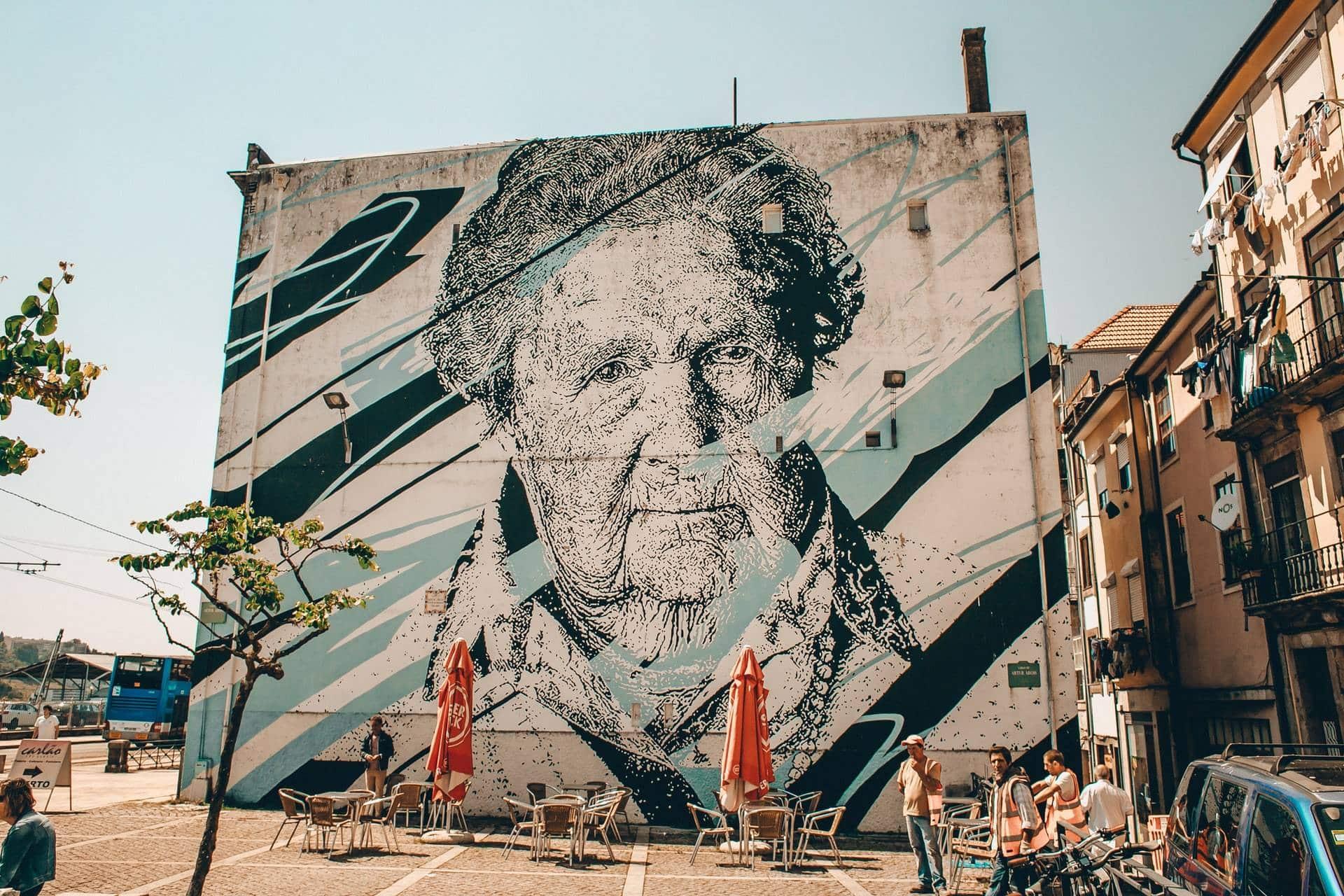 Arte callejero en Oporto, Portugal