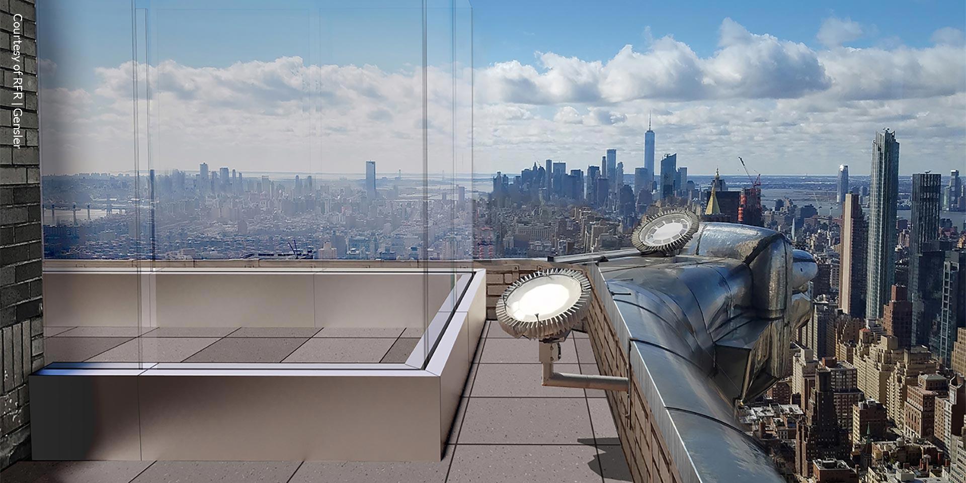 Chrysler Building observation deck View