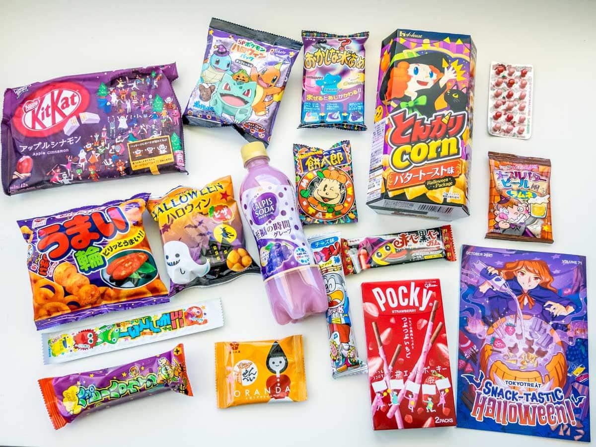 Tokyo treat box contents Oct 2021