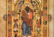 El libro de Kells - Cristo entronizado - 'Blog de viajes