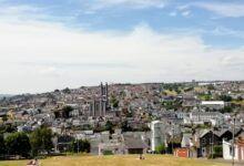 Vista de la ciudad de Cork